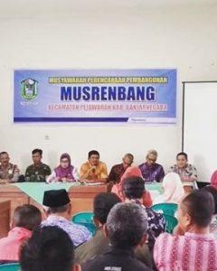 Musrenbang Tingkat Kecamatan Pejawaran Tahun 2019